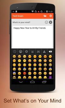 Insta Text - TextGram apk screenshot