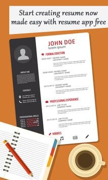 Create Professional Resume & CV poster