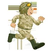 Combat kid icon