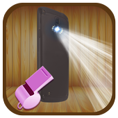 Whistle to Flash Torch Light icon