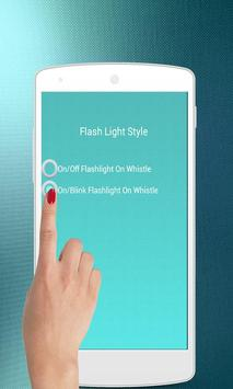 Whistle to Flash Torch Light screenshot 4