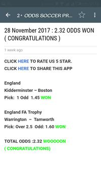 KING TIPSTER SOCCER PREDICTIONS screenshot 1