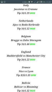 KING TIPSTER SOCCER PREDICTIONS screenshot 4