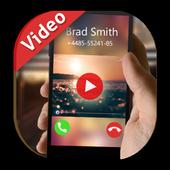 Full Screen Video Caller ID icon