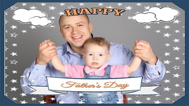 Father Day Photo Grid poster