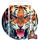 Tiger Wallpaper & Background Full HD icon