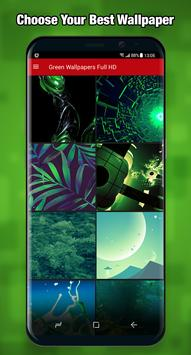 Green Wallpapers & Background Full HD apk screenshot