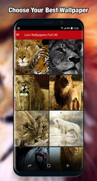 Lion Wallpaper & Background Full HD screenshot 2