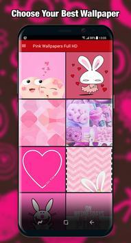 Pink Wallpaper Full HD screenshot 2