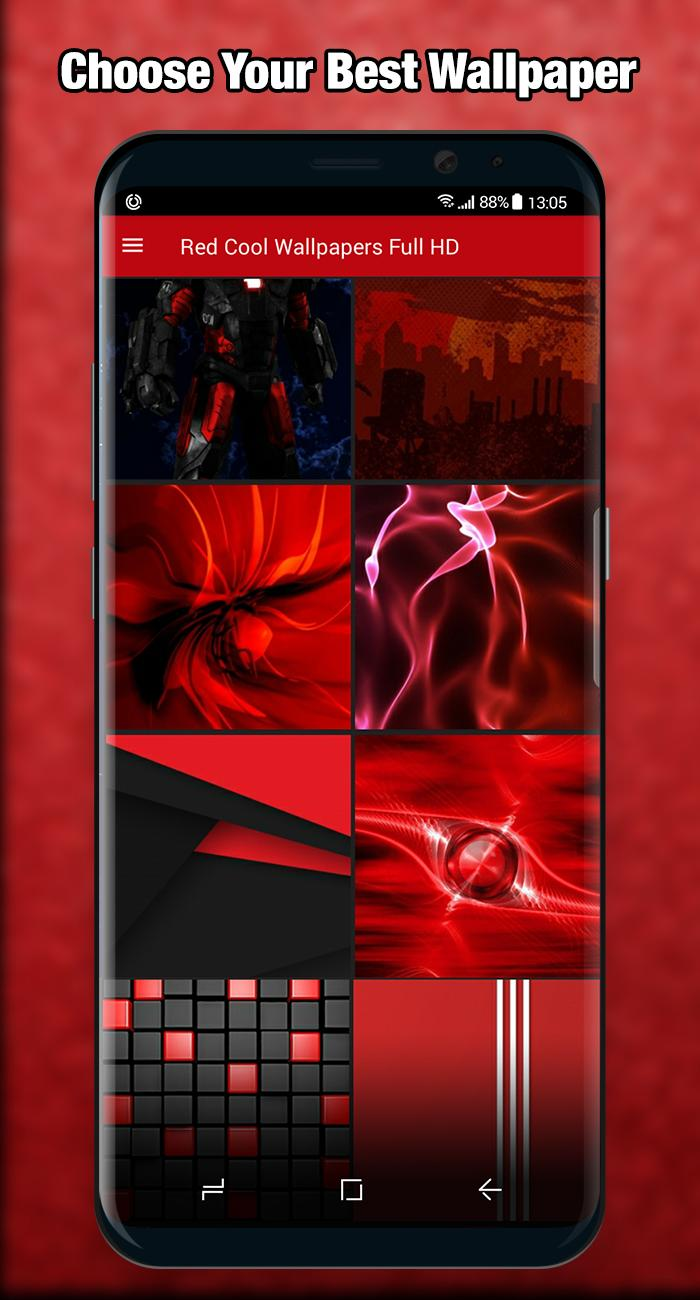 Red Wallpaper Cool Full Hd For Android Apk Download