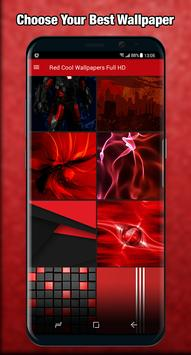 Red Wallpaper Cool Full HD apk screenshot