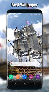 Ship Wallpaper & Background Full HD poster