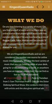 KingandQueenRadio screenshot 3