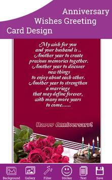 Anniversary Wishes Card screenshot 2