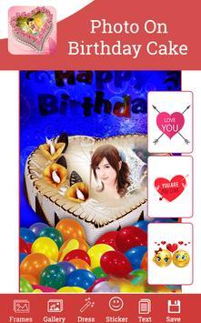 Photo On Birthday Cake screenshot 3