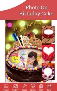 Photo On Birthday Cake screenshot 1