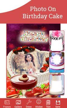 Photo On Birthday Cake screenshot 2