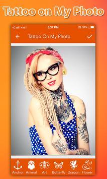 Tattoo On My Photo screenshot 1