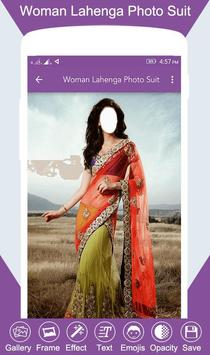 Woman Lahenga Photo Suit screenshot 3