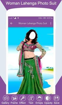 Woman Lahenga Photo Suit screenshot 1