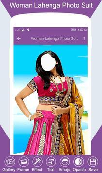 Woman Lahenga Photo Suit screenshot 2