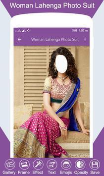 Woman Lahenga Photo Suit screenshot 4