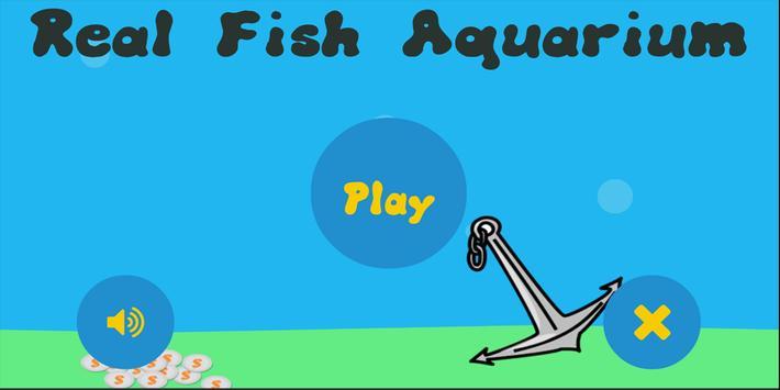 Real Fish Aquarium-Free poster