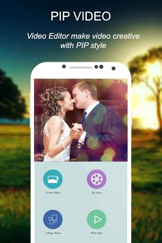 Photo Video Editor With Music apk screenshot