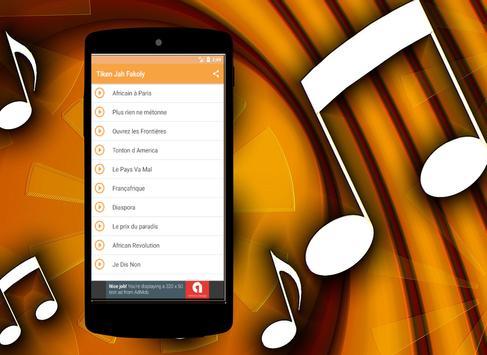 Tiken Jah Fakoly Songs screenshot 1