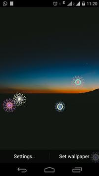 Fireworks Live Wallpaper screenshot 5