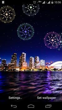 Fireworks Live Wallpaper poster