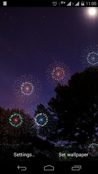 Fireworks Live Wallpaper screenshot 3