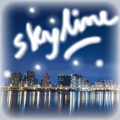 City SkylineStar Livewallpaper icon