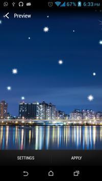 City SkylineStar Livewallpaper poster