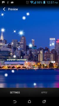 City SkylineStar Livewallpaper screenshot 2