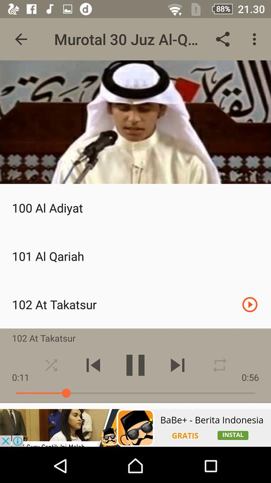 Murottal Muhammad Thaha Al-Junaid 30 Juz for Android - APK Download