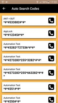 Mobile Secret Codes screenshot 5