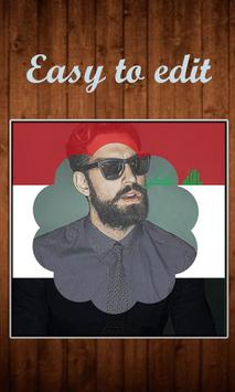 My Iraq Flag Photo screenshot 1