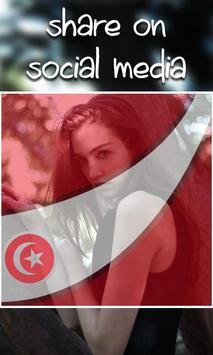 My Tunisia Flag Photo Maker apk screenshot