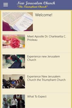 New Jerusalem Church apk screenshot