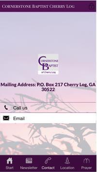 Cornerstone Baptist Cherry Log screenshot 2
