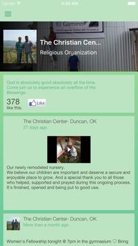 The Christian Center, Duncan poster