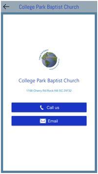 College Park Baptist Church screenshot 3