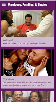 Marriages, Families, & Singles poster