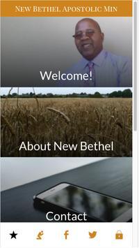 New Bethel Apostolic Ministry poster