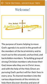 New Bethel Apostolic Ministry screenshot 2