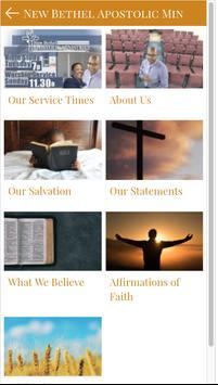 New Bethel Apostolic Ministry screenshot 3