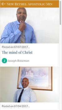 New Bethel Apostolic Ministry screenshot 5