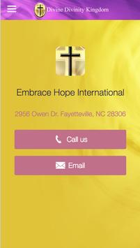 Embrace Hope International screenshot 3