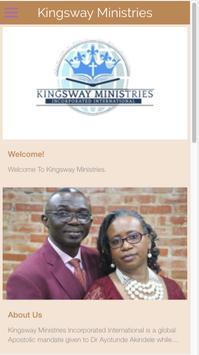 Kingsway Ministries poster